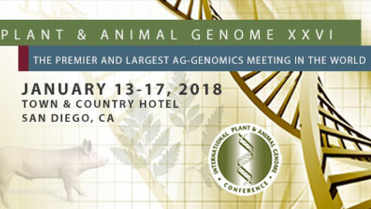 2018 International Plant and Animal Genome Conference